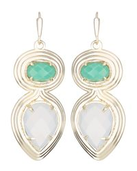 Kendra Scott | Blue Yira Earrings | Lyst