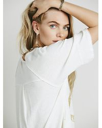 Free People | White We The Free Womens We The Free Tailgate Graphic Tee | Lyst