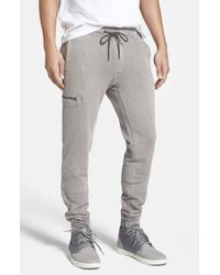 Jeremiah - Gray 'frazier' French Terry Jogger Pants for Men - Lyst