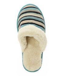 Acorn | Blue Polar Scuff Slippers | Lyst