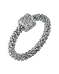 Links of London - Metallic Star Dust Silver Bead Ring - Lyst