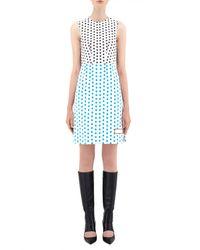 J.W.Anderson - Multicolor Shift Dress W/ Stitch Detail - Lyst