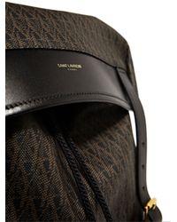 Saint Laurent - Black Mens Classic Monogram Backpack for Men - Lyst
