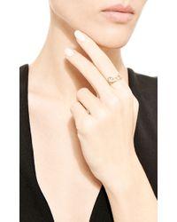 Sehti Na | Metallic White Sapphire Parallel Planet Ring | Lyst