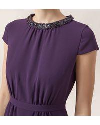 Hobbs   Purple Alwena Maxi Dress   Lyst