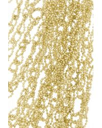 Rosantica | Metallic Penelope Gold-Dipped Multi-Strand Necklace | Lyst