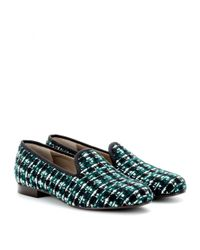 Marc Jacobs - Blue Tweed Slippers - Lyst