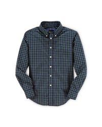 Ralph Lauren | Blue Blake Plaid Cotton Shirt for Men | Lyst