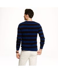 J.Crew - Black Preorder Stripe Cotton Sweater for Men - Lyst