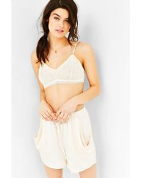 Out From Under | White Grace Lace Bralette | Lyst