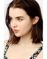 Urban Outfitters - Metallic Triangle Etched Cuff Earring - Lyst