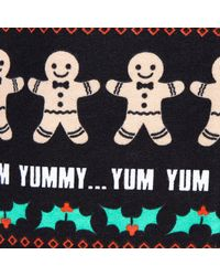 River Island | Green Black Ginger Bread Man Print Playsuit for Men | Lyst