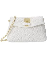 Betsey Johnson | White Always Be Mine Crossbody | Lyst