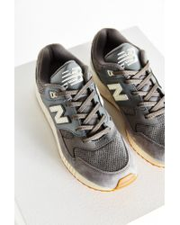 New Balance - Gray 90s Solid 530 Running Sneaker - Lyst