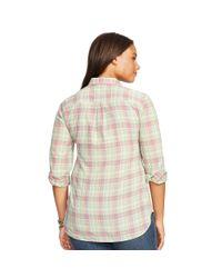 Ralph Lauren | Multicolor Striped Cotton Shirt | Lyst