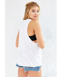 Project Social T - White Not Your Boyfriend's Muscle Tee - Lyst