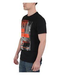 Bench - Black All Ways Graphic Crew Neck Regular Fit T-shirt for Men - Lyst