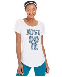 Nike | White Boyfriend Aloha 2.0 Short-sleeve Tee | Lyst