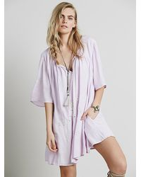 Free People | Purple Nara Dress | Lyst