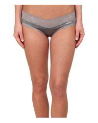 DKNY - Gray Signature Lace Bikini Dk1268 - Lyst
