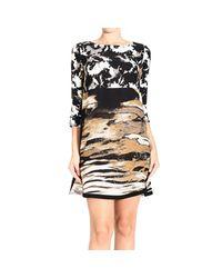 Pinko - Brown Dress Woman - Lyst