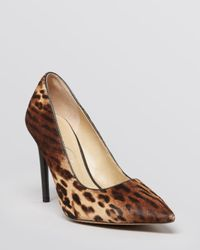 Kenneth Cole | Brown Pointed Toe Pumps Bonita High Heel | Lyst
