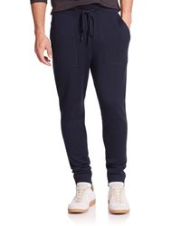 Michael Kors | Blue Look Back Merino Wool Pants for Men | Lyst