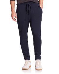 Michael Kors - Blue Look Back Merino Wool Pants for Men - Lyst