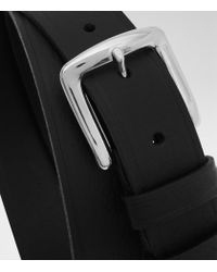 Reiss | Black Hue Slim Leather Belt for Men | Lyst
