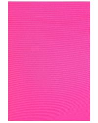 Missguided - Jeania Ribbed Bodycon Midi Skirt In Hot Pink - Lyst