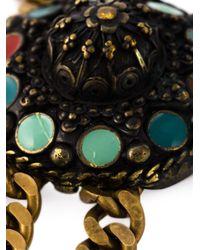 Jean Paul Gaultier | Metallic Thimbles Pendant Necklace | Lyst