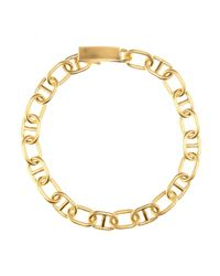 Acne Studios | Metallic Eliana Gold-Tone Necklace | Lyst