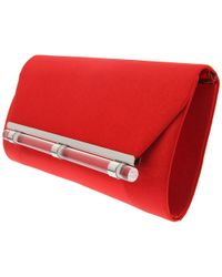 Nina - Red Lucky Clutch - Lyst