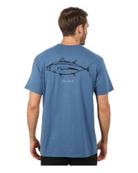 Jack O'neill - Blue Albacore Short Sleeve Screen Tee for Men - Lyst