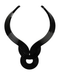 Lara Bohinc | Black Necklace | Lyst