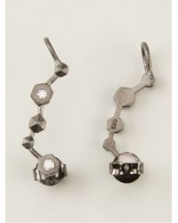 Bjorg - Metallic The Stairway Earrings - Lyst
