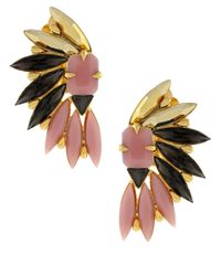 Vince Camuto - Pink Cluster Stud Earrings - Lyst