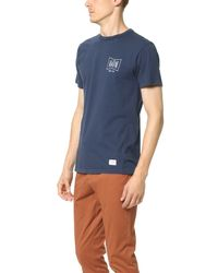 Katin | Blue Grubby Tee for Men | Lyst