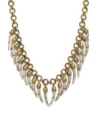 Spell & The Gypsy Collective - Wolf Rider Necklace in Metallic Gold - Lyst