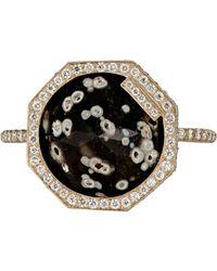 Monique Péan - Metallic Women's Inverted Obsidian Ring - Lyst
