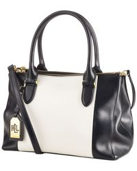 Lauren by Ralph Lauren | Black Newbury Spectator Double Zip Shopper | Lyst