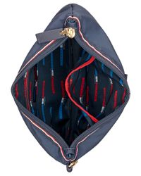 Tommy Hilfiger | Blue Training Plus Solid Nylon 3 Pouch Set | Lyst