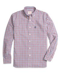 Brooks Brothers | Blue Gingham Sport Shirt for Men | Lyst