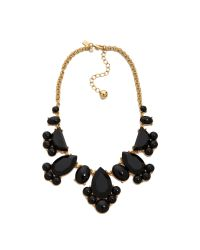 kate spade new york - Black Day Tripper Necklace - Lyst