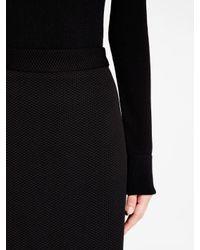 DKNY - Black Pencil Skirt - Lyst