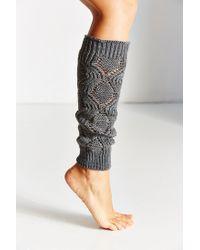 Urban Outfitters | Gray Knit Legwarmer | Lyst