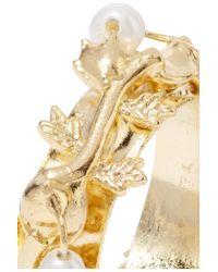 Rosantica | Metallic Fata Gold-tone Pearl Ear Cuff | Lyst
