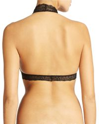 Free People | Black Kiki Halter Bra | Lyst