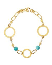 Stephanie Kantis - Metallic Love Gold-dipped Turquoise Necklace - Lyst
