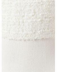 Giambattista Valli - Natural Bouclé Knit Dress - Lyst